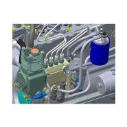 Eurosens direct - débitmètre carburant - mechatronics - plage de 1 à 500 litres par heure