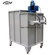 Cabine de pulvérisation de poudre zkm-2