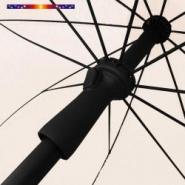 Parasol ecru 200 cm design italien  - alex stores et parasols