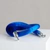 Cordon de velours bleu sku: q-757-af06