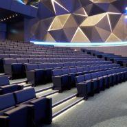 Orion skate - fauteuil salle de conférence - quinette gallay - entraxe fauteuil : 58,5 cm à 60cm