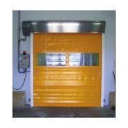 Porte rapide profil a7 / à enroulement / en plastique / utilisation intérieure / 4500 x 4440 mm