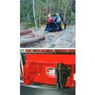 9002 maxo tlp - treuil forestier - igland - traction de 9 t