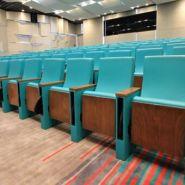 Caspian - fauteuil salle de conférence - quinette gallay - entraxe fauteuil : 53,5cm à 58,5cm