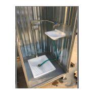 Toilette mobile raccordable box 1 / 97 x 91 x 120 cm