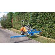 Taille haie hydraulique pour tracteur et télescopique