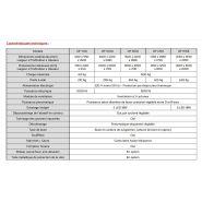 Df 700 - cabine de sablage à dépression - arena - largeur x profondeur x hauteur : 700 x 650 x 540
