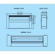 I25-100 - sécheuse-repasseuses - primus - capacité 30 kg/h