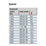 200 351 04 - timon pour remorque - dexko global - version a1 cote a 1850 mm