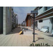 Lampadaire urbain solaire hcpl 15-20 / led