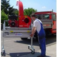 Gar t4 - aspirateur de voirie - françois et fils - débit d'air 160 m3 air/min