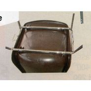14031a4006 - chaises empilables - millet-culinor - dimensions 0,44 x 0,50 x h. 0,80m