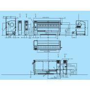 I33-160 - sécheuse-repasseuses - primus - capacité 62 kg/h