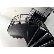 Escalier hélicoïdal eh.09 - rem53 - diamètre 2300 mm