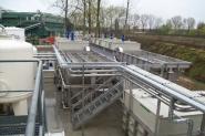 Stations d'épuration des eaux usées / physico-chimiques et biologiques installations