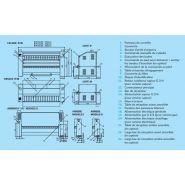 Ir/if 50-250 - sécheuse-repasseuses - primus - vitesse du rouleau 1,5-8 m/min