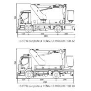 182 tpm camion nacelle - fe group - 18m