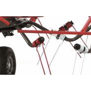 Spider 455/4 faneuse rotative - sip - largeur de travail 4,50 m