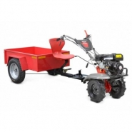 Motoculteur 4.9cv transformale en tracteur - h7970