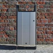 Electra 85 bin litter - poubelle publique - glasdon - 85 litres
