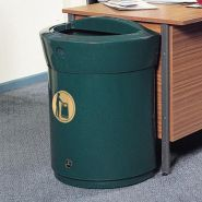 Envoy - poubelle publique - glasdon - 90 litres