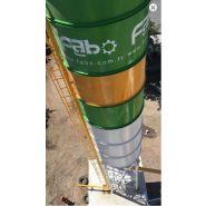 Powermix-130 centrale à béton - fabo - fixe - 130 m3/h