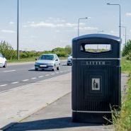 Jubilee - poubelle publique - glasdon - 240 litres