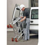 Uni mini echafaudage roulant petite hauteur - layher - hauteur de travail max.8,30 m