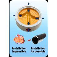 Clapet anti-odeur & anti-retour pour canalisations