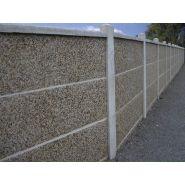 Clôtures en béton - clôtures nicolas - poids plaques et chaperons 29 à 75 kg