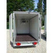 Remorque frigorifique - carry remorques constructeur - volume 2 à 15m3