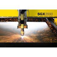 Sgx - coupe industrielle - esab france sas - largeurs de coupe utiles de 2m
