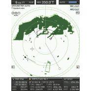Radar marine écran couleur avec ais arpa asn ic-mr-1010rii