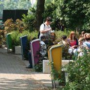Falcojona 50 litre - poubelle publique - falco - bac intérieur robuste