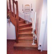 Fauteuil monte-escalier tournant a180