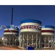 Cs-1000 - silo à ciment boulonné - constmach - capacité de 1000 tonnes