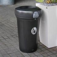 Pacifique - poubelle publique - glasdon - 130 litres