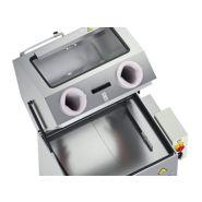 Fontaine de lavage fermée avec gants - capacité lavage :1200x800x450 mm
