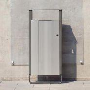 Electra - poubelle publique - glasdon - 60 à 65 litres