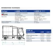 L 6000 - laveuse de voirie - cmar - capacité 6000 l