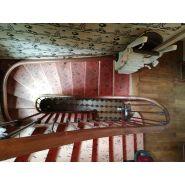 Fauteuil monte escalier tournant handicare monorail