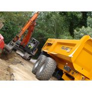 Rollroc 5800 - bennes tp - rolland - charge utile approximative : 17400 kg