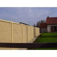 Clôtures en béton classiques et pleines - clôtures nicolas - poids poteaux 41 à 140 kg