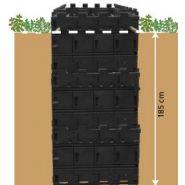 Kit de blindage pour cimetiere  kit 9 2,12mx0,97mx2m
