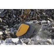 Godet concasseur hartl hbc (pelle de 12-60 tonnes)