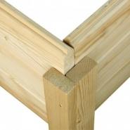 42558 - abri de jardin dahme 1 de 2,21m² panneaux bois 14mm - karibu
