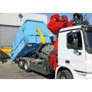 Telescopic t07duo - bras hydraulique pour camion - palfinger - 7 à 17 t