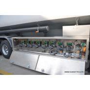 Remorques citerne carburant pétrolier - xiamen sunsky trailer co.,ltd - capacité 40000 l