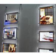 Porte affiche led mira view