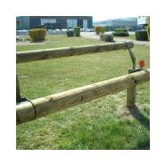 Euro mb2 n2 - glissière de sécurité - roadis - mixte bois-métal